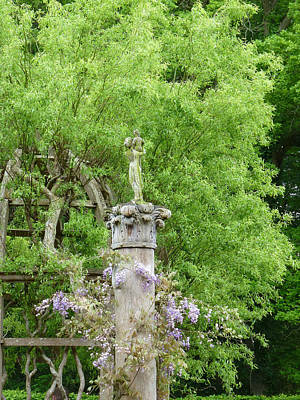 Photograph - Gazebo In The Maze At Chenonceau by Susan Alvaro