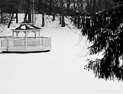 Photograph - Gazebo In The Park by Gena Weiser