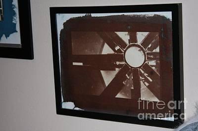 Van Dyke Brown Mixed Media - Gazebo by Kelly Wright