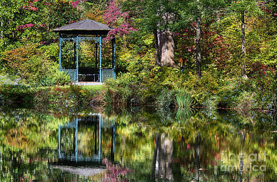 Abstract Works - Gazebo Retreat by John Greim