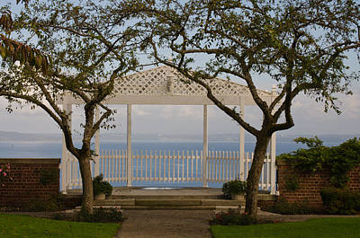 Photograph - Gazebo Waterfront by Tikvah's Hope