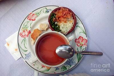 Photograph - Gazpacho Soup-cordoba by Rezzan Erguvan-Onal