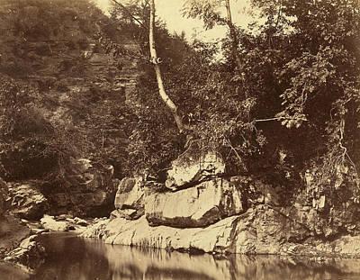 G.b. Gething British, Active C.1850s, River Scene Art Print