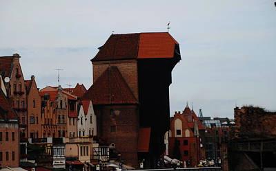 Photograph - Gdansk Crane by Jacqueline M Lewis