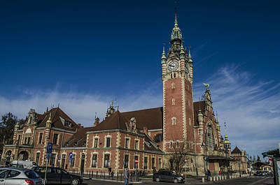 Gdansk Main Station Art Print by Adam Budziarek