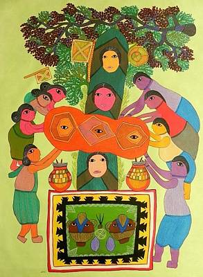 Durga Bai Painting - Gdb 02 by Durga Bai