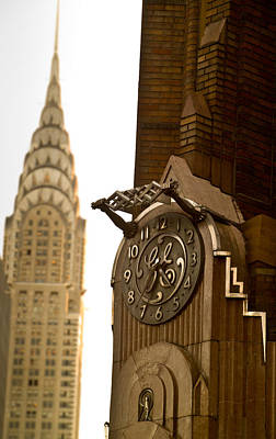Photograph - General Electric Building 1 by David Smith
