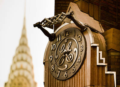 Photograph - General Electric Building 2 by David Smith