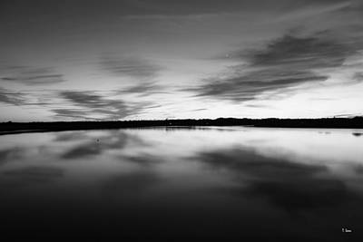 Photograph - Peaceful Sunset by Thomas Leon