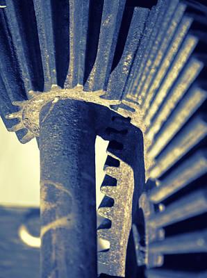 Pinion Photograph - Gear Wheel Mechanism by Modern Art Prints