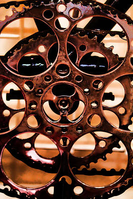 Photograph - Gears by Brian Davis