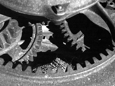 Photograph - Gears Dark by Tarey Potter