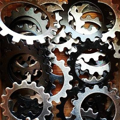 Decorative Photograph - #gears #decorative #beads #store by Bradley Nelson
