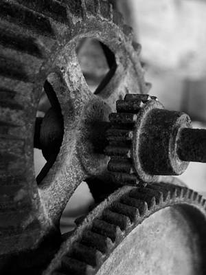 Photograph - Gears by Jeff Montgomery