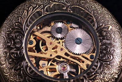 Gears Art Print by John Rizzuto