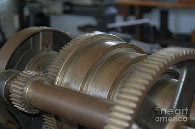 Art Print featuring the photograph Gears Of Progress by Patrick Shupert
