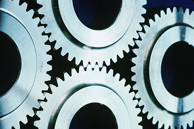 Photograph - Gears by Takeshi Takahara