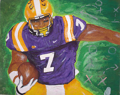 Louisiana State University Painting - Geaux Tigers by Ryan Preatto