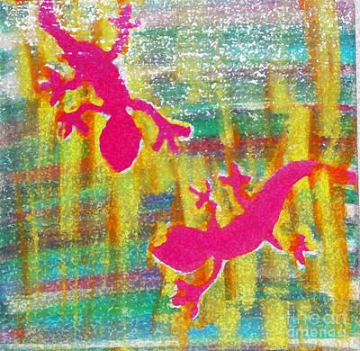 Gecko Static II Print by Satya Wimbish