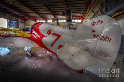 Tail Photograph - Gee Bee Super Sportster by Marvin Spates