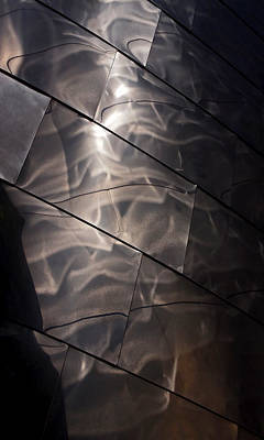 Brown Abstract Photograph - Gehry Magic by Rona Black