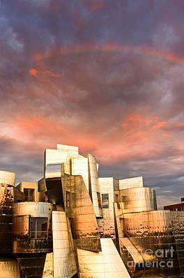 University Of Minnesota Wall Art - Photograph - Gehry Rainbow by Joe Mamer