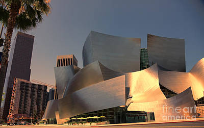 Chuck Kuhn Photograph - Gehry Tones by Chuck Kuhn