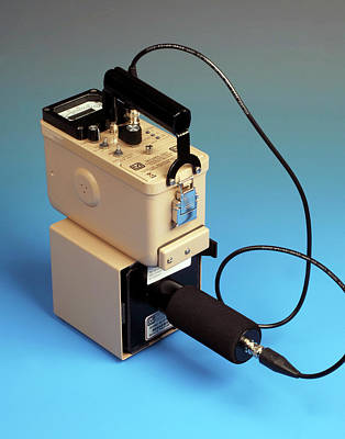 Electronics Photograph - Geiger Counter by Public Health England
