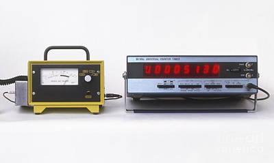 Geiger Counters Art Print by Dorling Kindersley