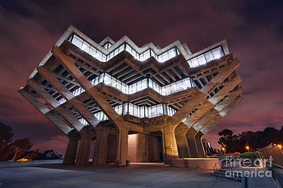 Photograph - Geisel Library by Eddie Yerkish