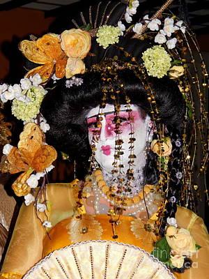 Photograph - Geisha Colour by Michael Hoard