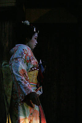 Photograph - Geisha by David Kacey