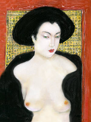 Pastel - Geisha  by Ed Meredith