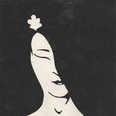 Geisha Art Print by T Ezell