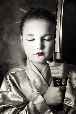 Photograph - Geisha by Tim Nichols