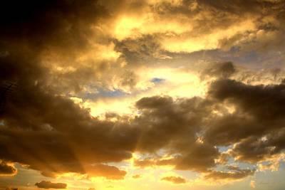 Gelato Sky Art Print