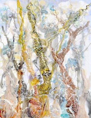 Painting - Gelid Glade by Regina Valluzzi