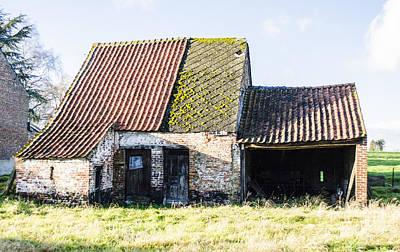 Photograph - Gembloux Barn by Deborah Smolinske