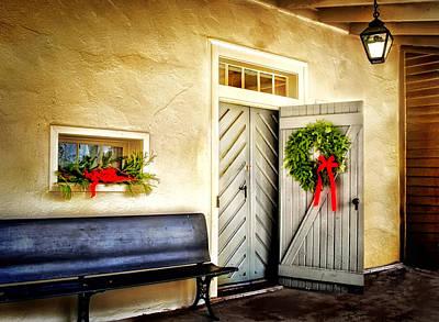 Photograph - Gemeinhaus Door by Carolyn Derstine