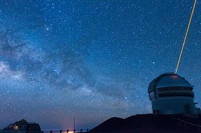Photograph - Gemini And The Milky Way Across The Sky 1 by Jason Chu