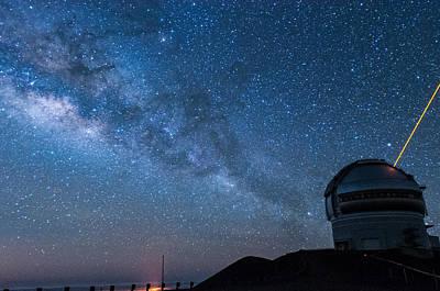 Photograph - Gemini And The Milky Way Across The Sky 2 by Jason Chu