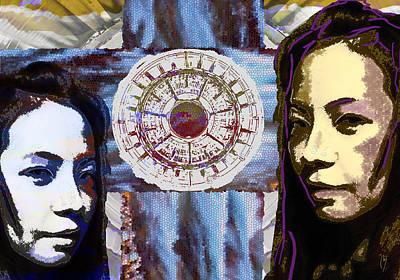 Digital Art - Gemini by Maria Jesus Hernandez