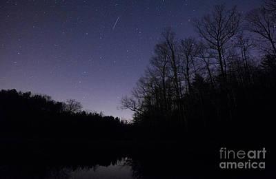 Geminid Meteor Art Print by Jonathan Welch