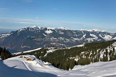 Bernese Photograph - Gemmenalphorn In The Bernese Alps Seen by Martin Zwick