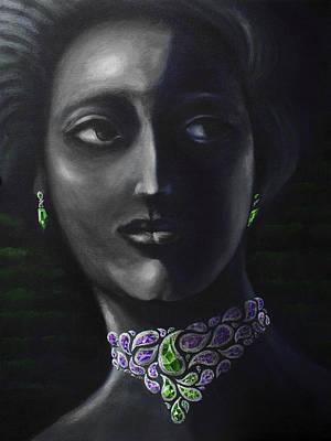 Painting - Gemstone by Siyavush Mammadov