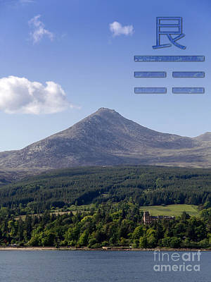 Photograph - Gen Trigram With Goat Fell by Liz Leyden
