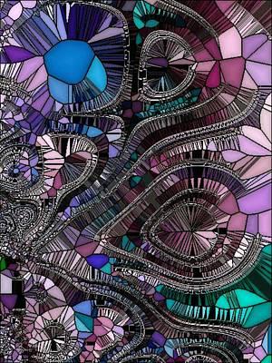 Generative Digital Art - Gen003-am by Amanda Moore