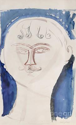 Gendarme By Amedeo Modigliani Art Print by Roberto Morgenthaler