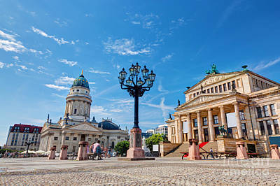Photograph - Gendarmenmarkt In Berlin Germany by Michal Bednarek