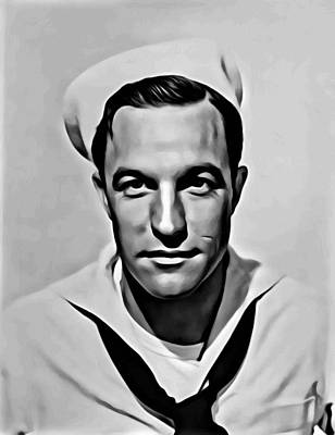 Photograph - Gene Kelly Portrait by Florian Rodarte